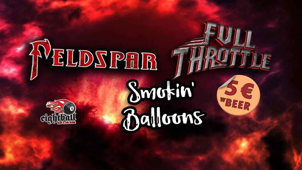 Feldspar, Full Throttle & Smokin' Balloons | LIVE