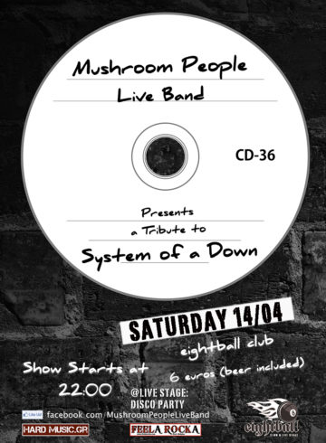 SYSTEM OF A DOWN | Live Tribute By Mushroom People | LIVE