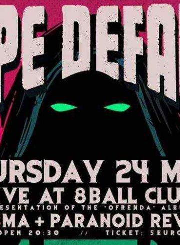 Dope Default 'Ofrenda' LIVE Presentation | LIVE