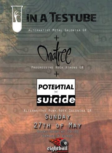 In a testube, Potential Suicide, Onatree | LIVE