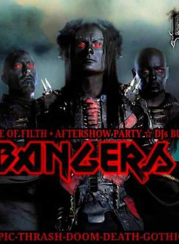 Headbangers 8Ball | CRADLE OF FILTH Aftershow Party