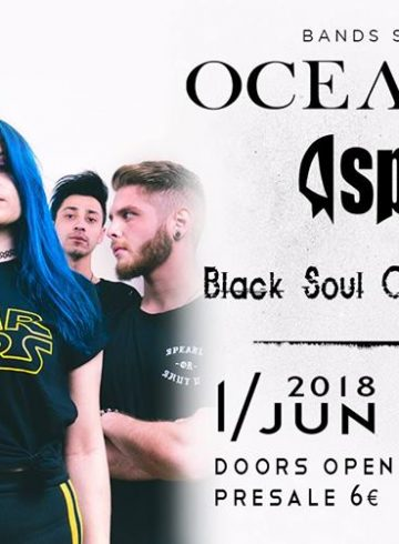 Oceandvst / Spitback / Black Soul Choir / Diary of Affliction | LIVE
