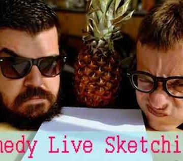 Comedy Live Sketching στο 8Ball!