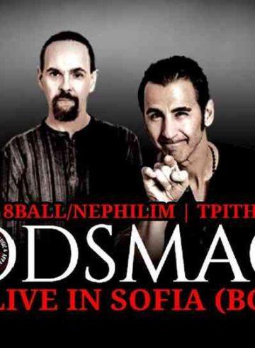 Εκδρομή 8Ball/Nephilim Godsmack Sofia (BG) 27/11