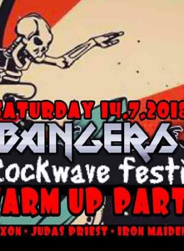 Headbangers 8Ball | ROCKWAVE FESTIVAL ☆ Warm Up Party!