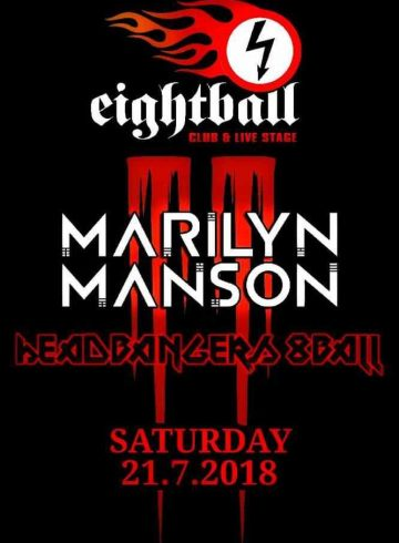 Headbangers 8Ball | MARILYN MANSON
