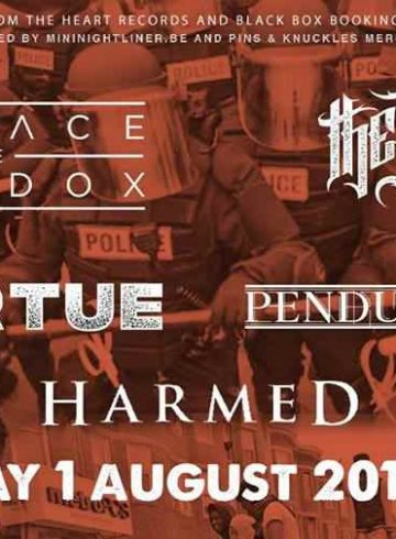 Embrace the Paradox / the Royal / Οf Virtue + Guests Live