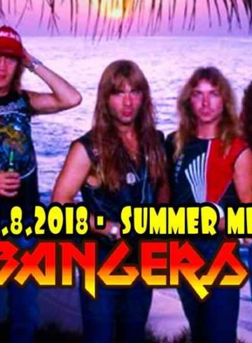 Headbangers 8Ball | SUMMER METAL PARTY