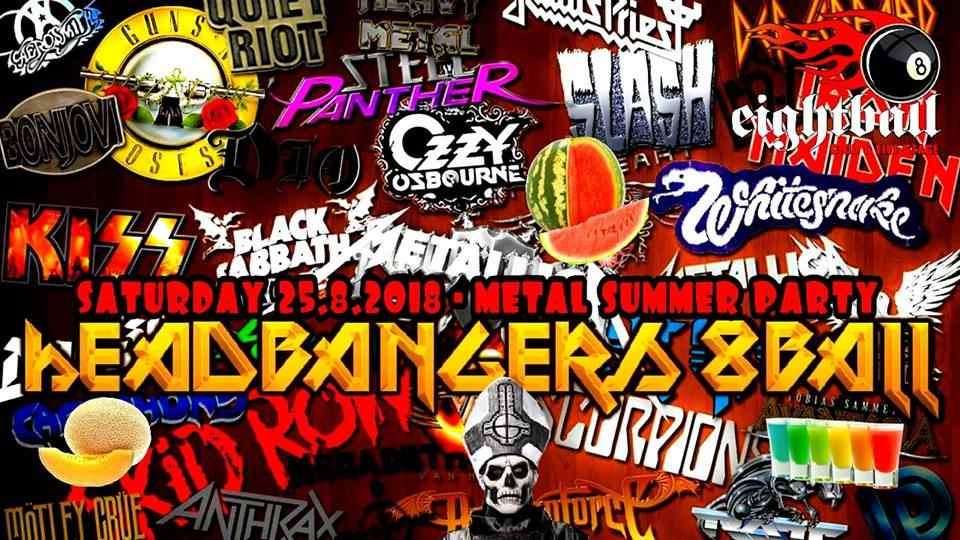 Headbangers 8Ball | METAL SUMMER PARTY