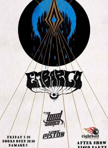 EMBARGO w/Loud Silence & Sonic Piston, Live @8BALL