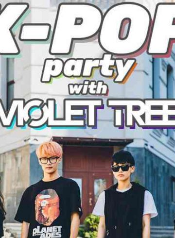 K-POP party with Violet Tree (KR) in Thessaloniki