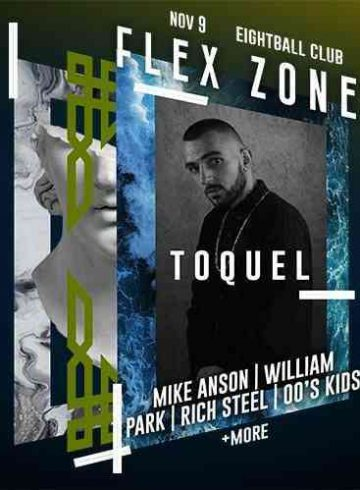 FLEX ZONE: Toquel + Guests Live (SKG)