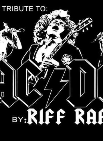 ACDC live tribute by RIFFraff 8ball