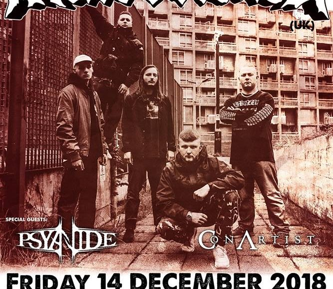 Malevolence (UK) Psyanide + TBA live in Thessaloniki