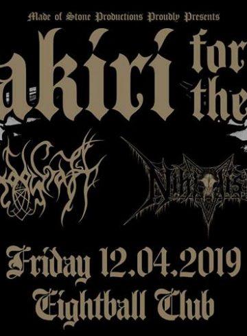 Harakiri for the Sky [AT] live at Eightball