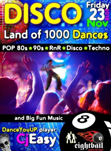 Disco – Land of 1000 dances