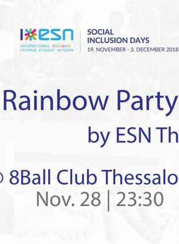 Rainbow Party by ESN Thessaloniki