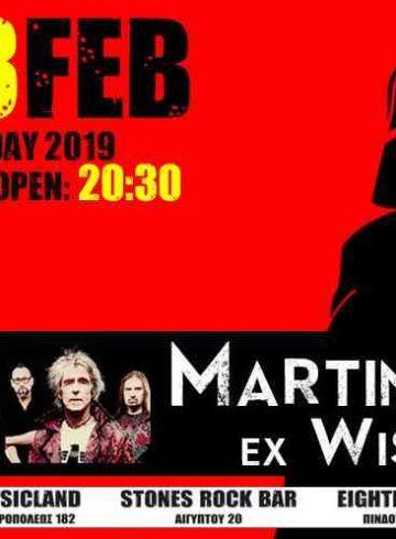 Martin Turner ex Wishbone Ash Live@8ball-Best of Classic Years
