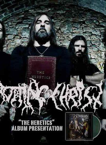 "Rotting Christ παρουσιαση νεου δισκου ""the heretics"" dj set"