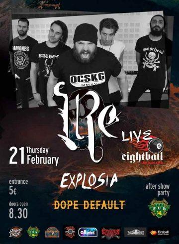 IRE / Explosia / Dope Default