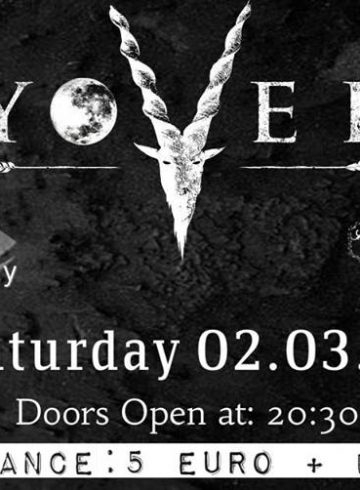 Yovel/Echoes Of Decay/Nachtfrost Live at 8Ball 02.03.19