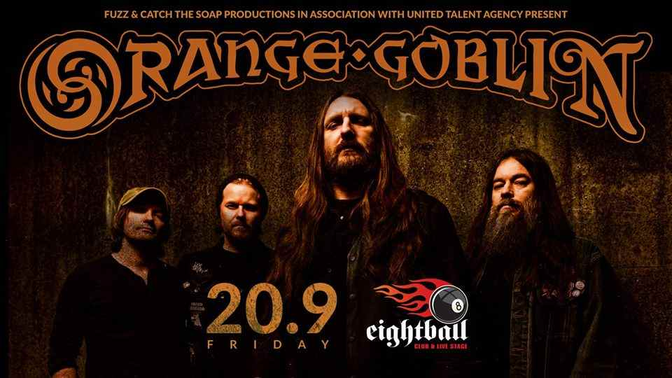 Orange Goblin live in Thessaloniki