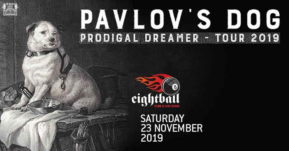 Pavlov's Dog 23 Νοεμβρίου, Eightball Θεσσαλονίκη
