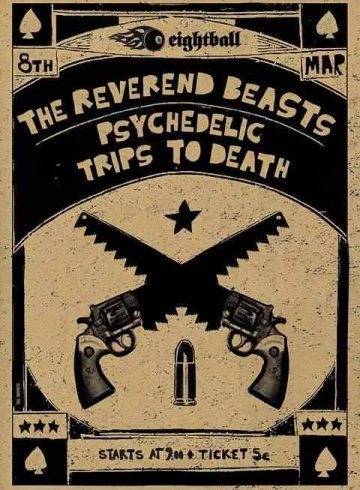 Psychedelic Trips To Death & The Reverend Beasts