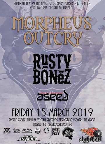 Morpheus Outcry / Rusty Bonez / Aseed