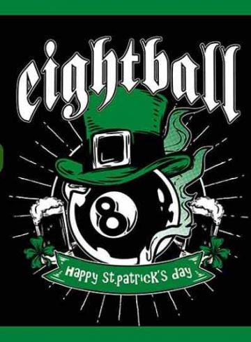ST Patricks DAY 8BALL