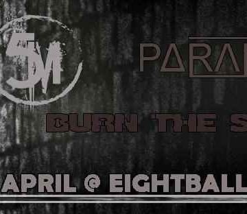 ParanoiR//Burn the splinter//5M live @8ball