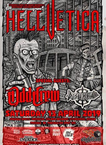 Hellvetica / Odd Crew / Disurban live in Thessaloniki
