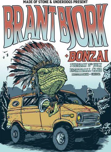 Brant Bjork [USA] live at Eightball Club