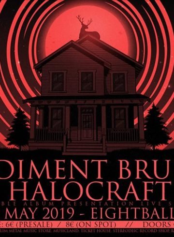 Sediment Bruise [GR] & Halocraft [GR] live at Eightball Club