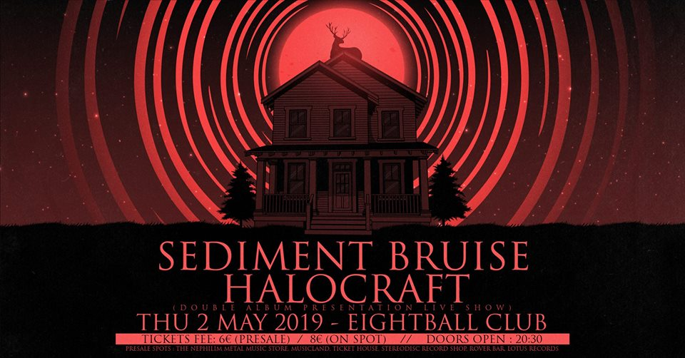 Sediment Bruise [GR] & Halocraft [GR] live at Eightball Club