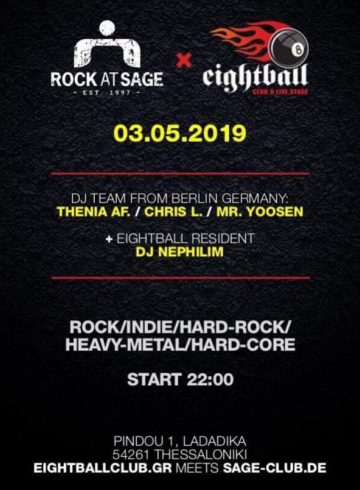 03.05.2019 Rock at Sage meets Eightball Club