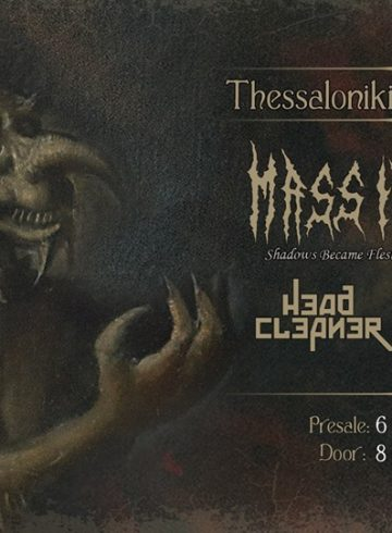 "Mass Infection ""Shadows Became Flesh"" release show@ Thessaloniki"