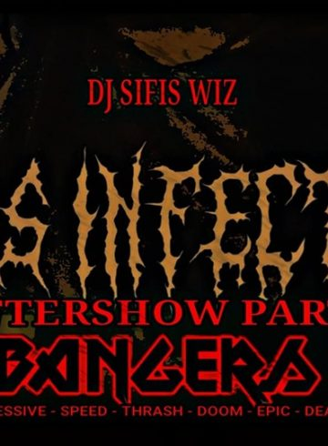 Headbangers 8Ball | MASS INFECTION Aftershow Party – Dj SIFIS