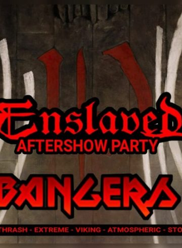 Headbangers 8Ball | ENSLAVED – Aftershow Party