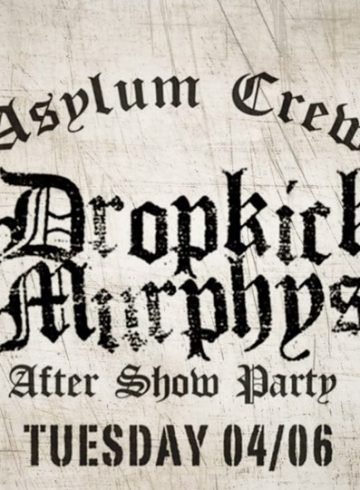 DROPKICK MURPHYS | Aftershow Party @ 8Ball