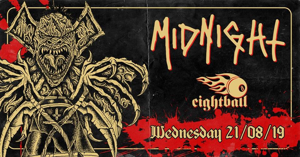 Midnight / Slaughtered Priest live at 8ball / Thessaloniki