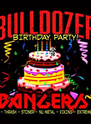 Headbangers 8Ball | BULLDOZER'S BIRTHDAY
