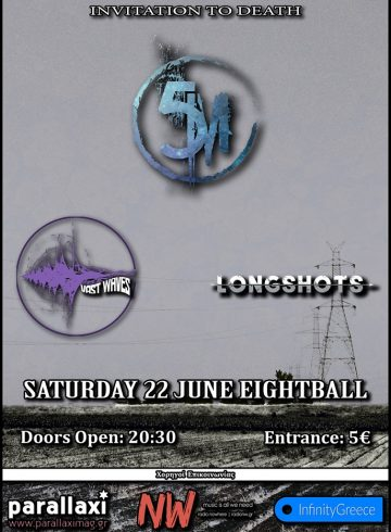 5M/Vast Waves/Longshots Live At EightBall 22 June