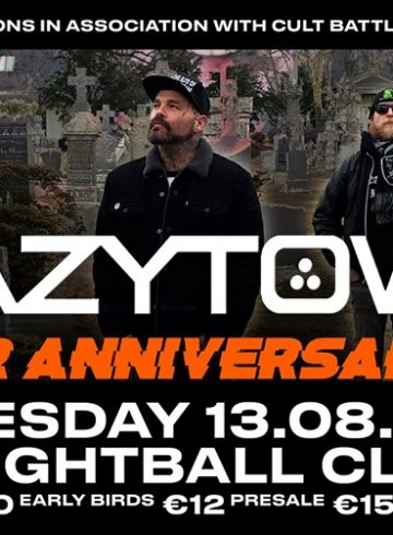 Crazy Town [USA] – 20th Anniversary live at Eightball Club