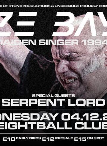 Βlaze Bayley [Iron Maiden singer 94-99] live in Thessaloniki