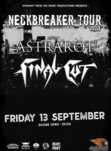 Astrarot + Final Cut Live in Thessaloniki