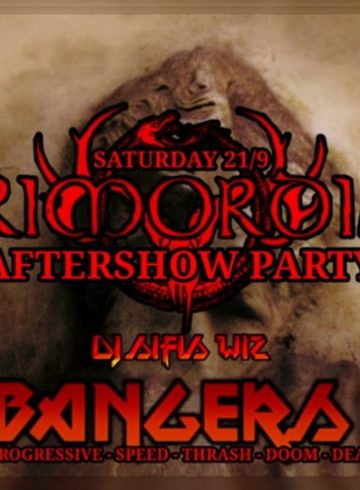 Headbangers 8Ball | PRIMORDIAL Aftershow Party – Dj Sifis Wiz