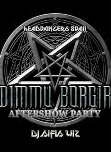 Headbangers 8Ball | DIMMU BORGIR Aftershow Party – Dj Sifis