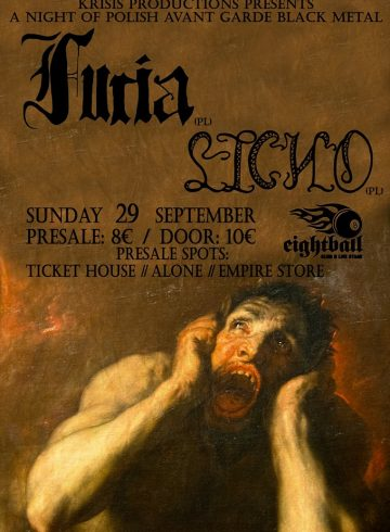 A Night of Polish Black Metal Live with Furia and Licho