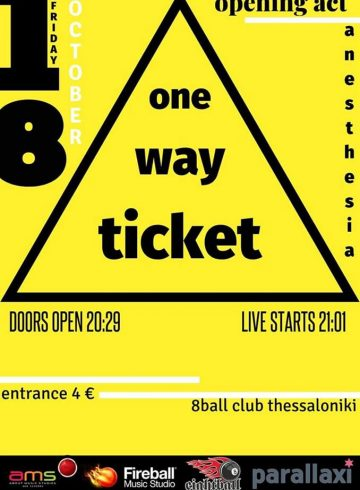 One Way Ticket Live w/ Anesthesia